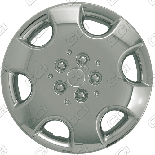 "Chrysler PT Cruiser  2003-2010, 15"" 6 Spoke Silver Wheel Covers"
