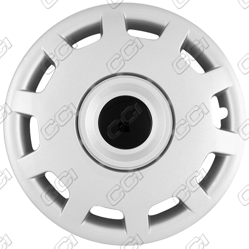 "Volkswagen Passat  1998-2001, 15"" 10 Hole Silver Wheel Covers"