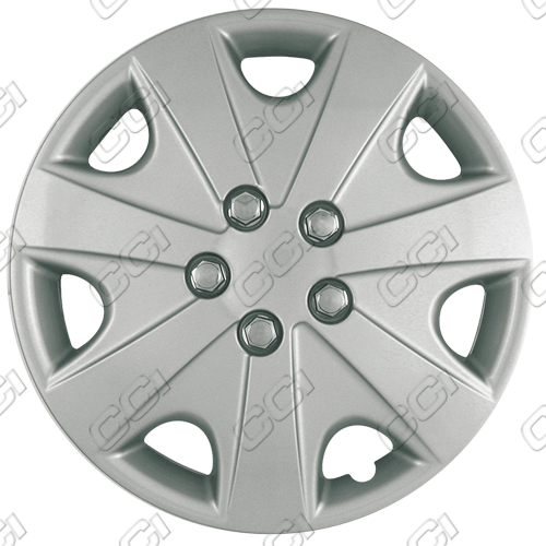 "Honda Accord  2003-2004, 15"" 7 Spoke Silver Wheel Covers"