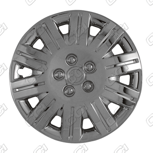 "Chrysler Town And Country  2005-2007, 15"" 10 Spoke Silver Wheel Covers"