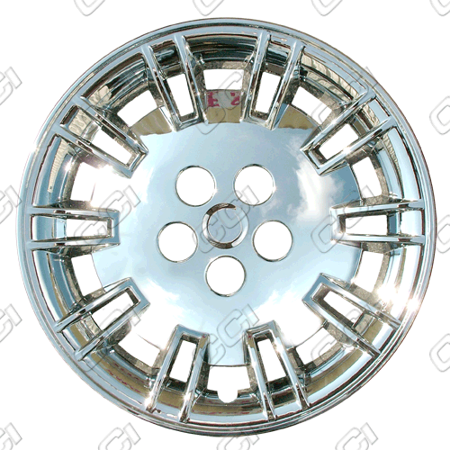 "Chrysler 300C /300 2005-2007, 17"" 10 Slot Silver Wheel Covers"