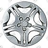 "2004 Chevrolet Malibu  , 15"" 5 Star Silver Wheel Covers"