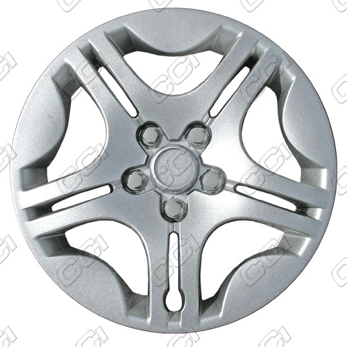 "Chevrolet Malibu  2004-2008, 15"" 5 Star Silver Wheel Covers"