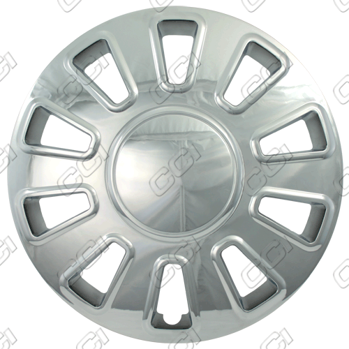 "Ford Crown Victoria  2007-2011, 17"" 10 Spoke - Chrome Wheel Covers"