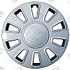 "2010 Ford Crown Victoria  , 17"" 10 Spoke - Silver Wheel Covers"