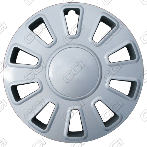 "Ford Crown Victoria  2007-2011, 17"" 10 Spoke - Silver Wheel Covers"