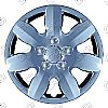"Hyundai Elantra  2007-2011, 15"" 7 Spoke - Silver Wheel Covers"