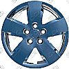 "Nissan Altima  2007-2008, 16"" 5 Spoke - Silver Wheel Covers"