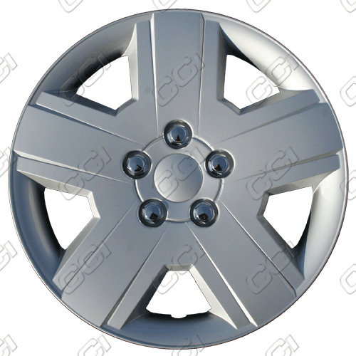 "Dodge Avenger  2008-2010, 16"" 5 Spoke - Chrome Wheel Covers"