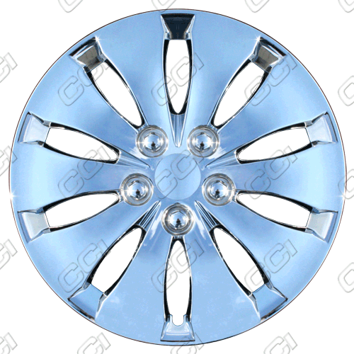 "Honda Accord  2008-2012, 16"" 10 Spoke - Chrome Wheel Covers"