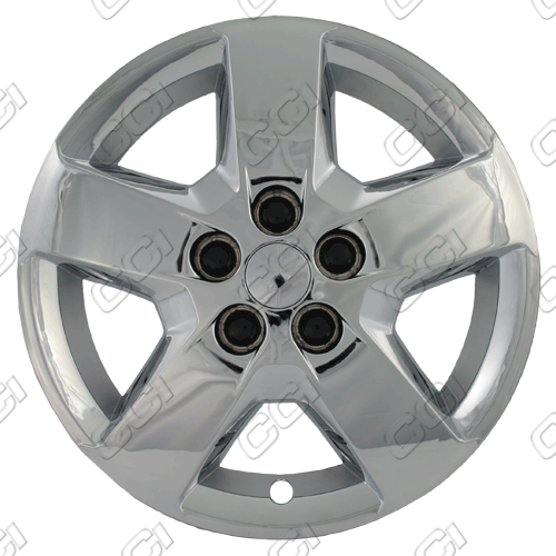 "Chevrolet Hhr  2008-2013, 16"" 5 Spoke - Silver Wheel Covers"
