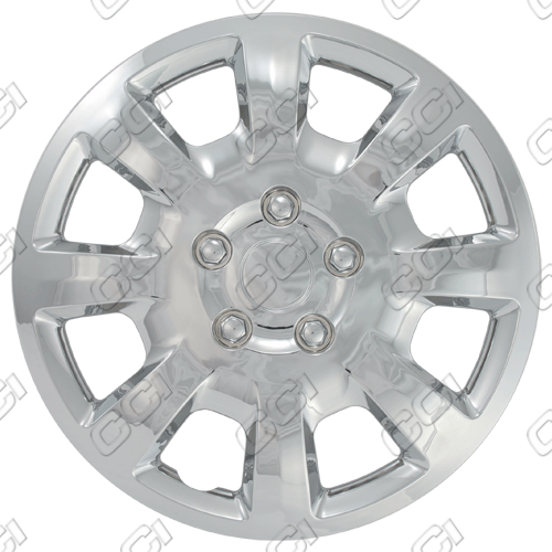 "Mitsubishi Galant  2006-2009, 16"" 8 Spoke - Silver Wheel Covers"