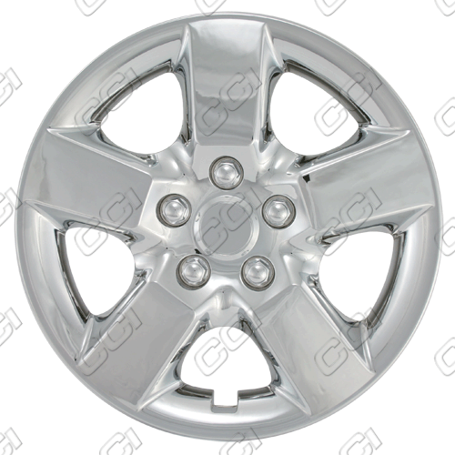 "Nissan Rogue  2008-2013, 16"" 5 Spoke - Silver Wheel Covers"