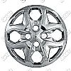 "Ford Fiesta  2011-2013, 15"" 4 Dbl Spoke, Chrome Wheel Covers"