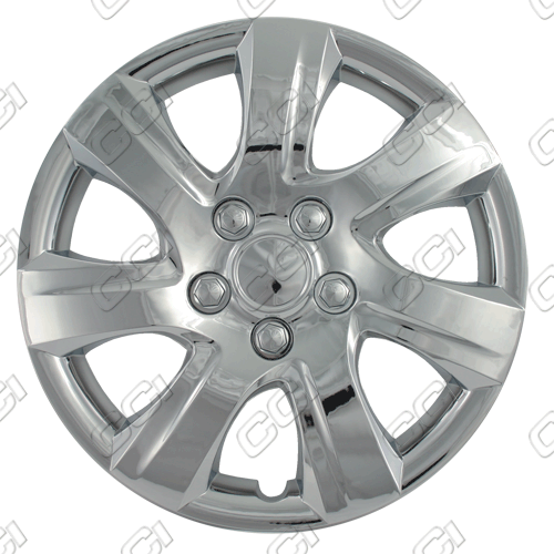 "Toyota Camry  2010-2011, 16"" 7 Spokes Silver Wheel Covers"