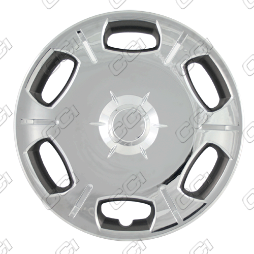 "Scion TC  2008-2010, 16"" 6 Spoke, Chrome Wheel Covers"
