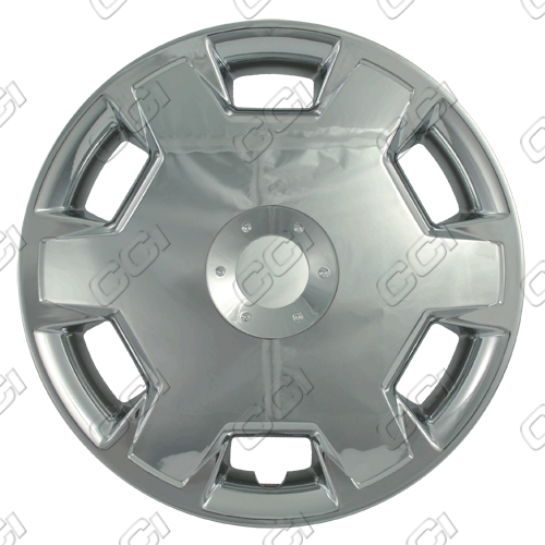 "Nissan Versa  2007-2009, 15"" 6 Hole Design Chrome Wheel Covers"