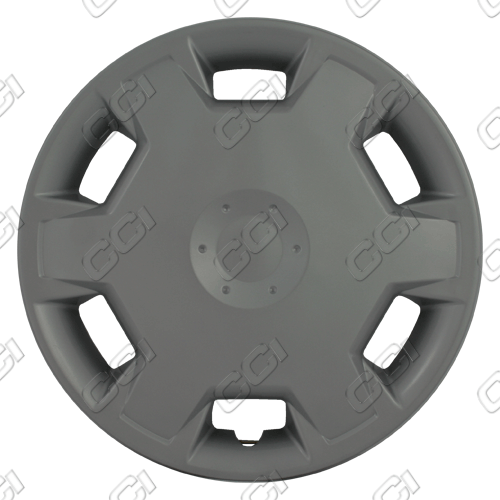 "Nissan Versa  2007-2009, 15"" 6 Hole Design Silver Wheel Covers"