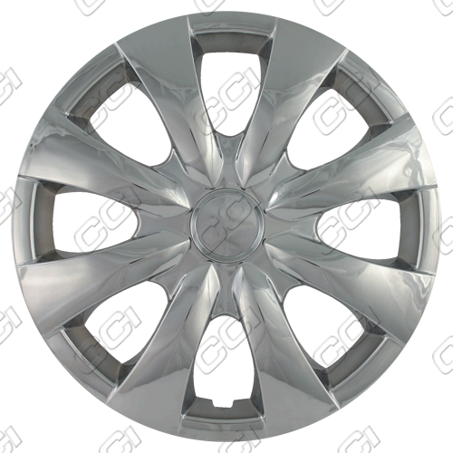 "Toyota Corolla  2003-2013, 15""  8 Spoke Silver Wheel Covers"