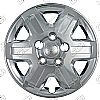 "Dodge Caravan  2008-2013, 16"" 6 Spoke - Silver Wheel Covers"