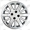 "2010 Chevrolet Cobalt  , 15"" 12 Spoke - Silver Wheel Covers"