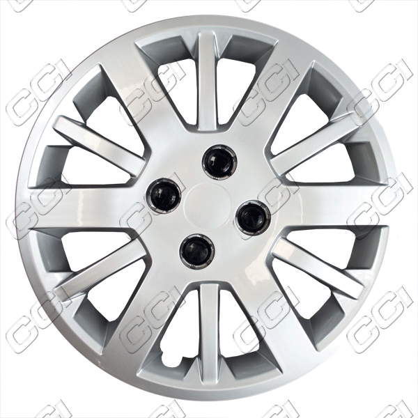 "Chevrolet Cobalt  2005-2010, 15"" 12 Spoke - Silver Wheel Covers"