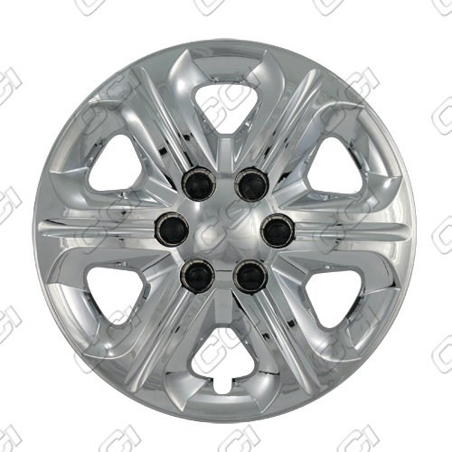 "Chevrolet Traverse  2009-2013, 17"" 6 Spoke - Silver Wheel Covers"