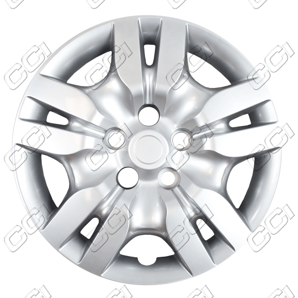 "Nissan Altima  2009-2010, 16"" 10 Spoke - Silver Wheel Covers"
