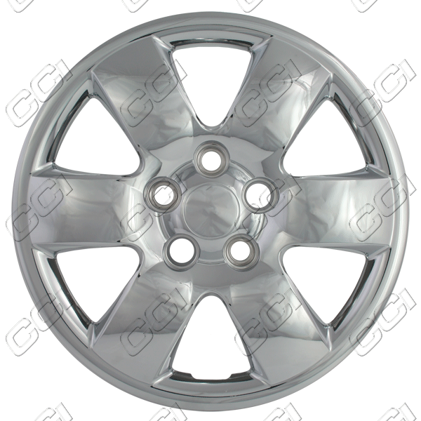 "Kia Magentis  2007-2010, 16"" 6 Spoke - Chrome Wheel Covers"