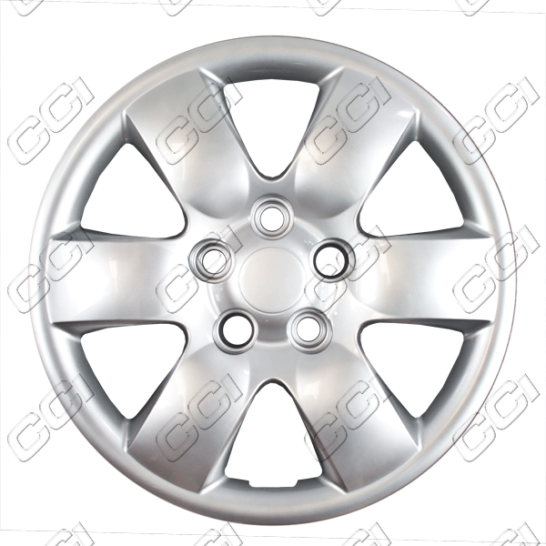 "Kia Optima  2006-2010, 16"" 6 Spoke - Silver Wheel Covers"