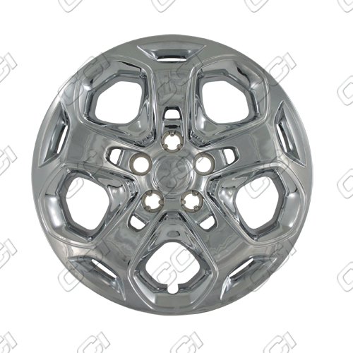 "Ford Fusion  2010-2013, 17"" 5 Spoke - Silver Wheel Covers"