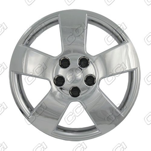 "Chevrolet Hhr  2006-2013, 16"" 5 Spoke - Silver Wheel Covers"