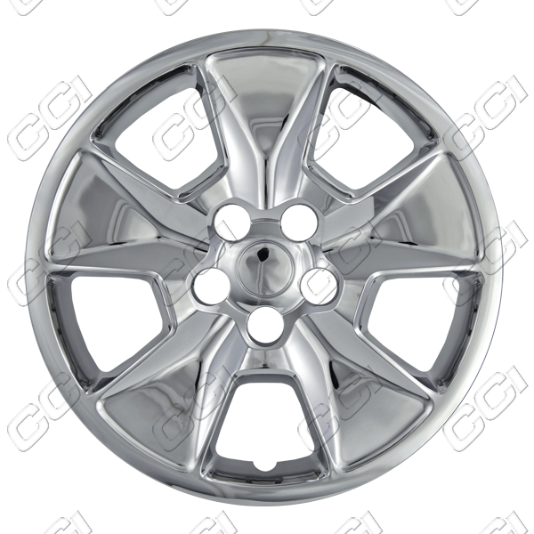 "Ford Explorer  2011-2013, 17"" 5 Spoke - Chrome Wheel Covers"