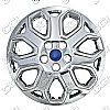 "2012 Ford Focus  , 16"" 7 Y Spokes - Chrome Wheel Covers"