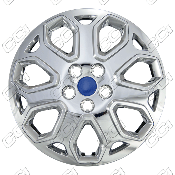 "Ford Focus  2012-2012, 16"" 7 Y Spokes - Chrome Wheel Covers"