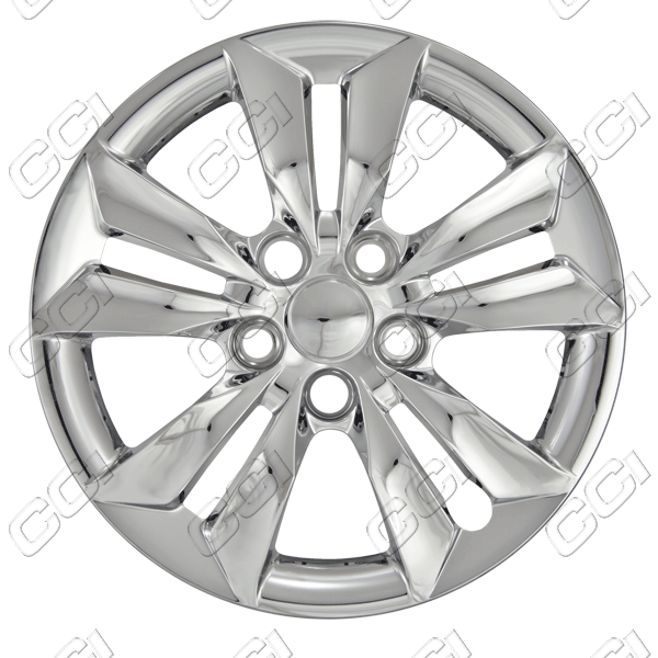"Hyundai Sonata  2011-2013, 16"" 10 Spoke - Silver Wheel Covers"