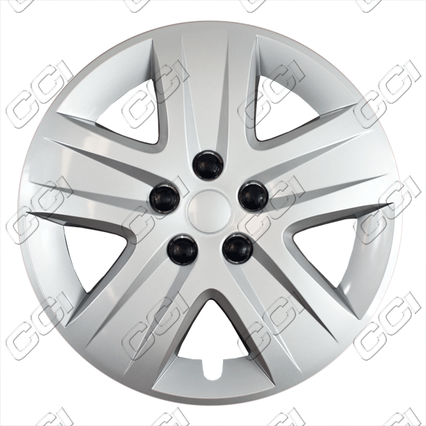 "Chevrolet Impala  2011-2013, 17"" 5 Spoke - Silver Wheel Covers"