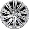 "2013 Toyota Camry  , 16"" 10 Split Spoke - Silver Wheel Covers"