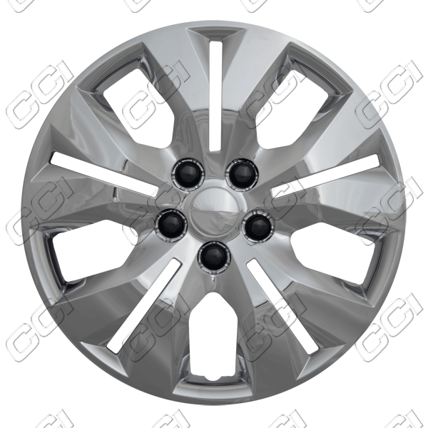 "Chevrolet Cruze  2012-2013, 16"" 5 Split Spoke - Chrome Wheel Covers"