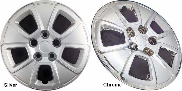 "Kia Soul  2010-2013, 15"" 5 Spoke - Chrome Wheel Covers"