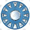 "2010 Ford Crown Victoria  , 16"" 12 Spoke Chrome / Silver Wheel Covers"