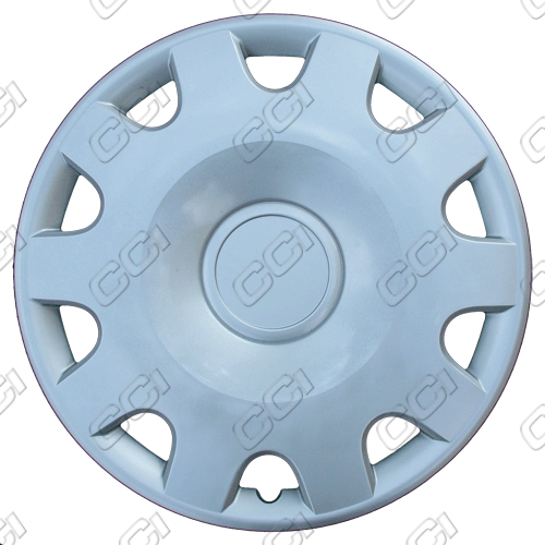 "Volkswagen Jetta  1999-2002, 15"" 10 Spoke Silver Wheel Covers"