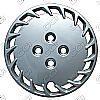 "Honda Accord  1988-1989, 13"" 17 Spoke - Wheel Covers"