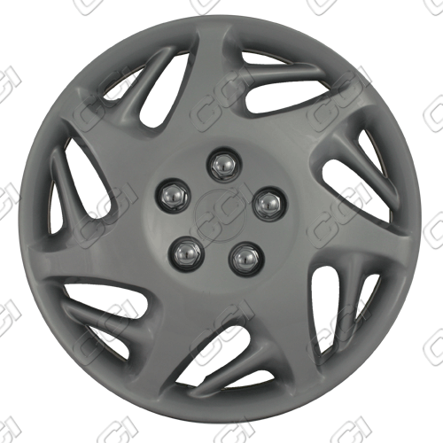 "Dodge Caravan  1998-2000, 16"" 7 Split Spoke - Silver Wheel Covers"