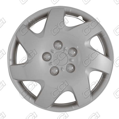 "Toyota Camry  2002-2006, 16"" 7 Spoke Directional - Silver Wheel Covers"
