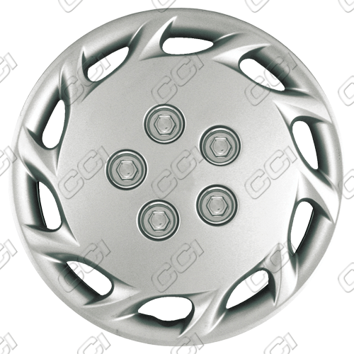 "Toyota Camry  1997-1999, 14"" 10 Hole - Silver Wheel Covers"