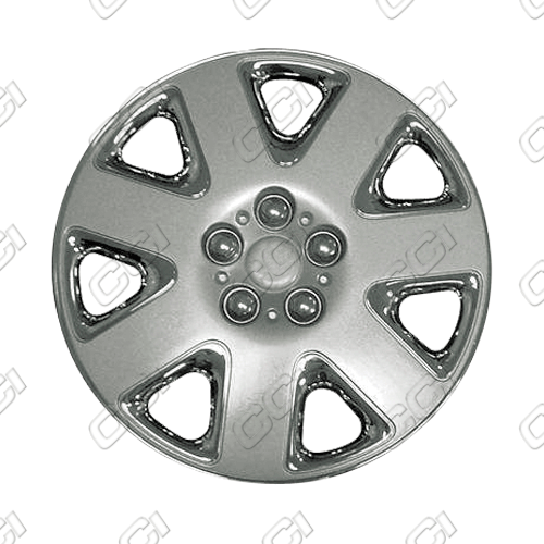 "Dodge Stratus  2001-2003, 15"" 7 Spoke - Chrome/Silver Wheel Covers"