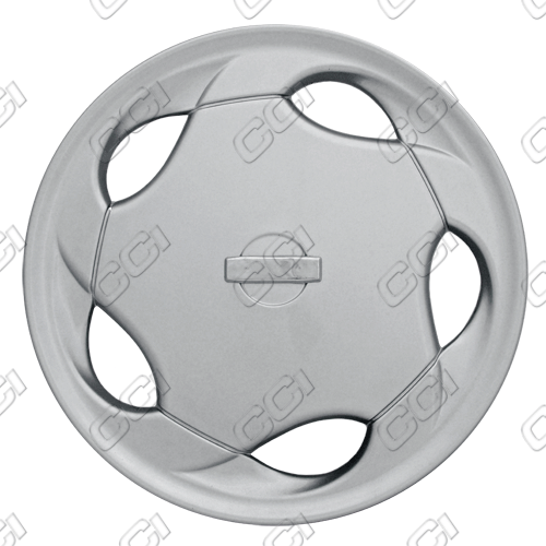 "Nissan Altima  1993-1996, 15"" 5 Hole - Silver Wheel Covers"