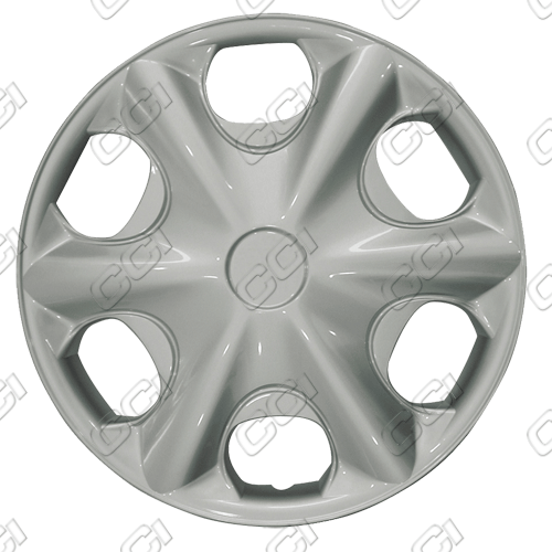 "Toyota Camry  2000-2001, 15"" 6 Spoke Silver Wheel Covers"