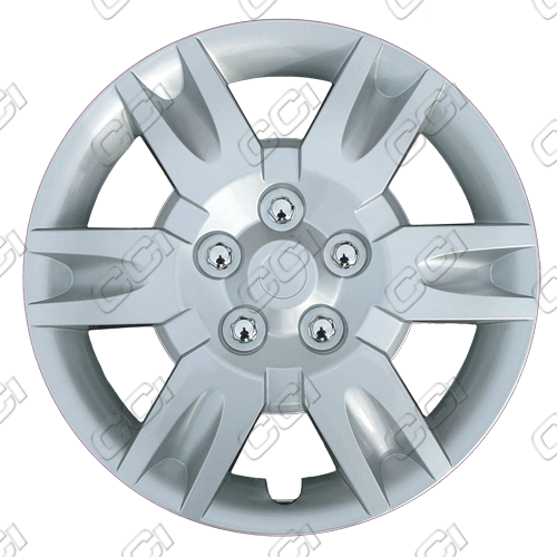 "Nissan Altima  2005-2006, 16"" 6 Spoke Silver Wheel Covers"